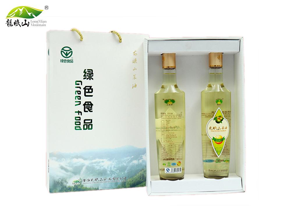 龙眠山茶油420ml*2(有机、绿色)