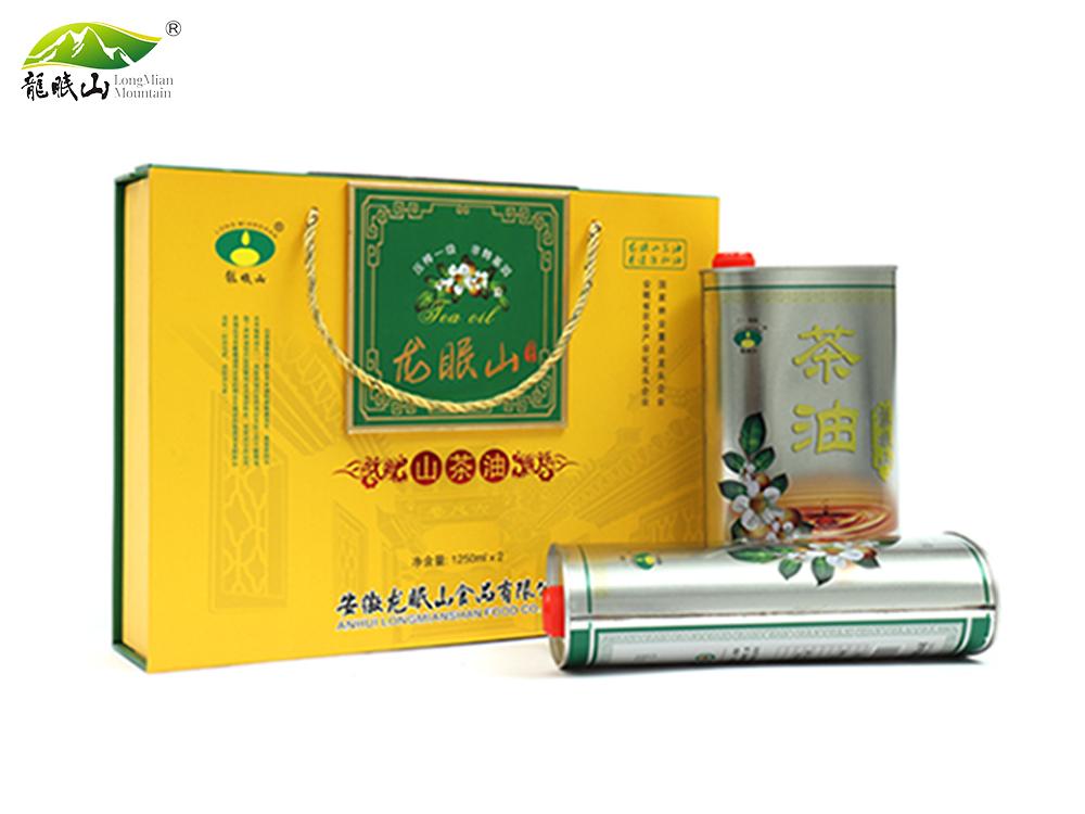 龙眠山茶油1250ml*2(压榨一级)