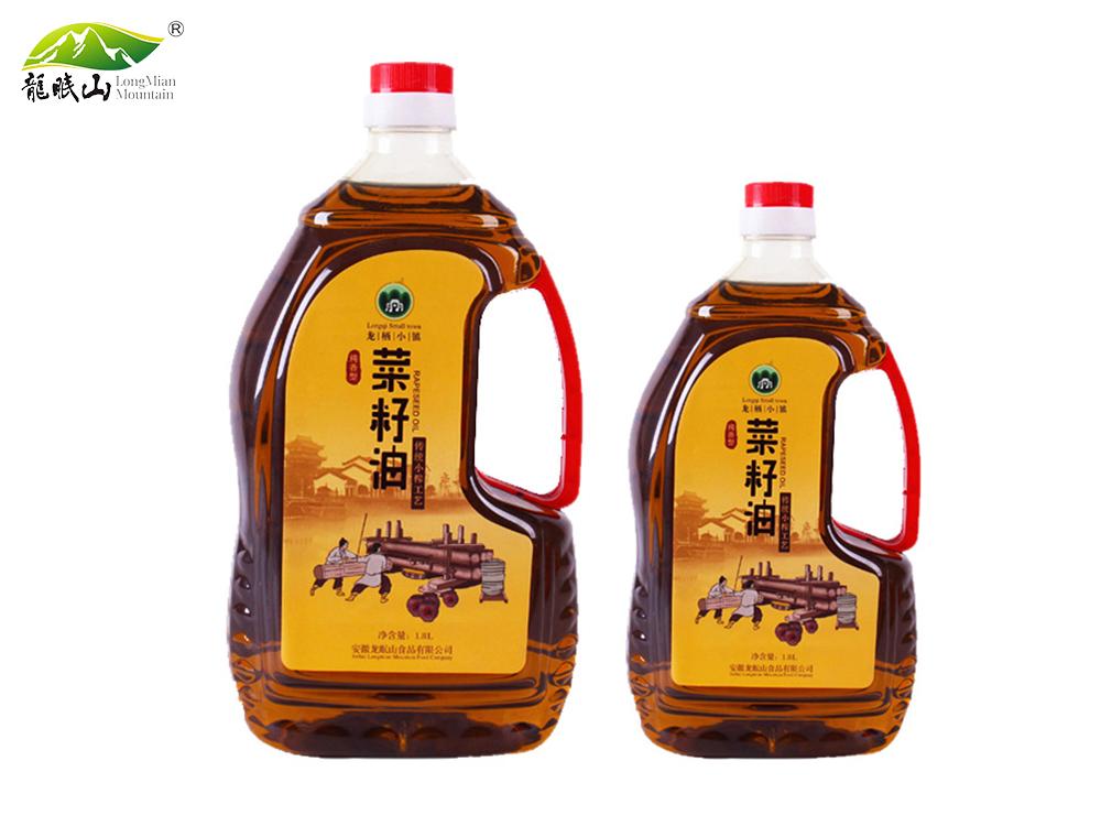 龙眠山菜籽油2.5L 1.8L