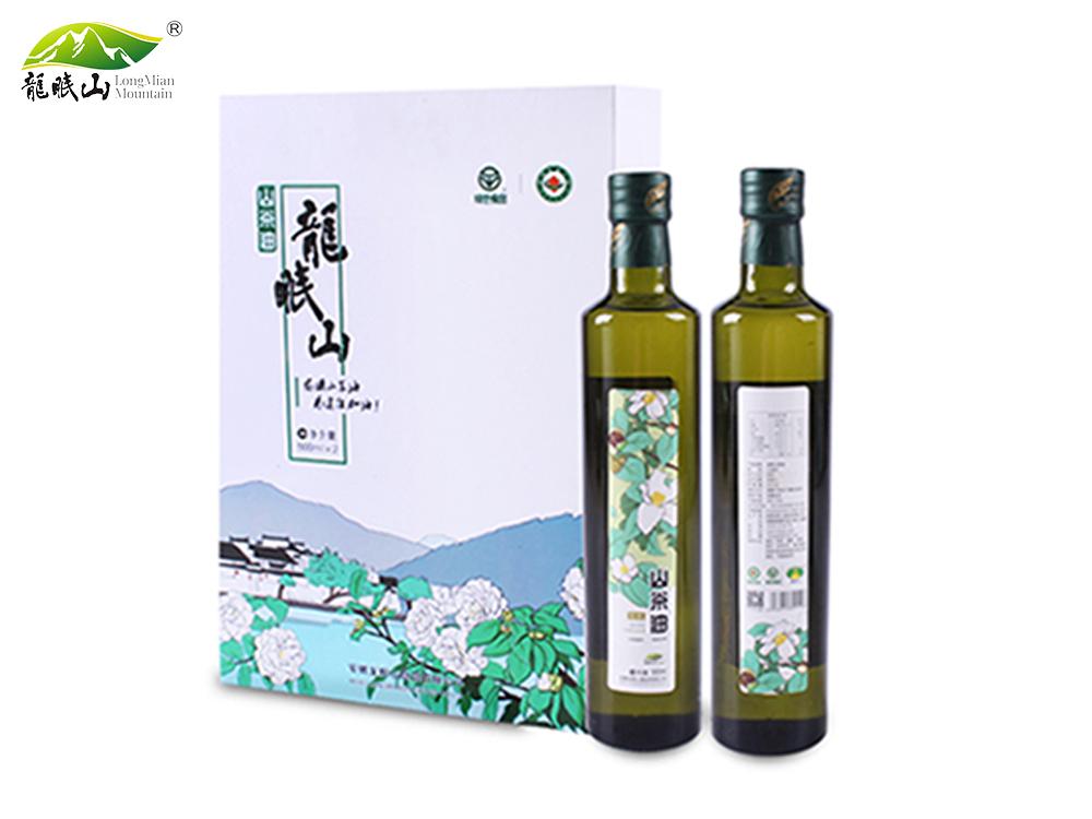 龙眠山茶油500ml*2(物流冷榨)