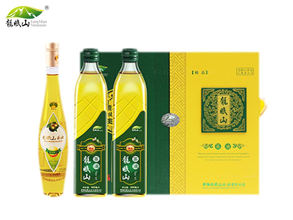 龙眠山茶油1260ml精品装(压榨一级)