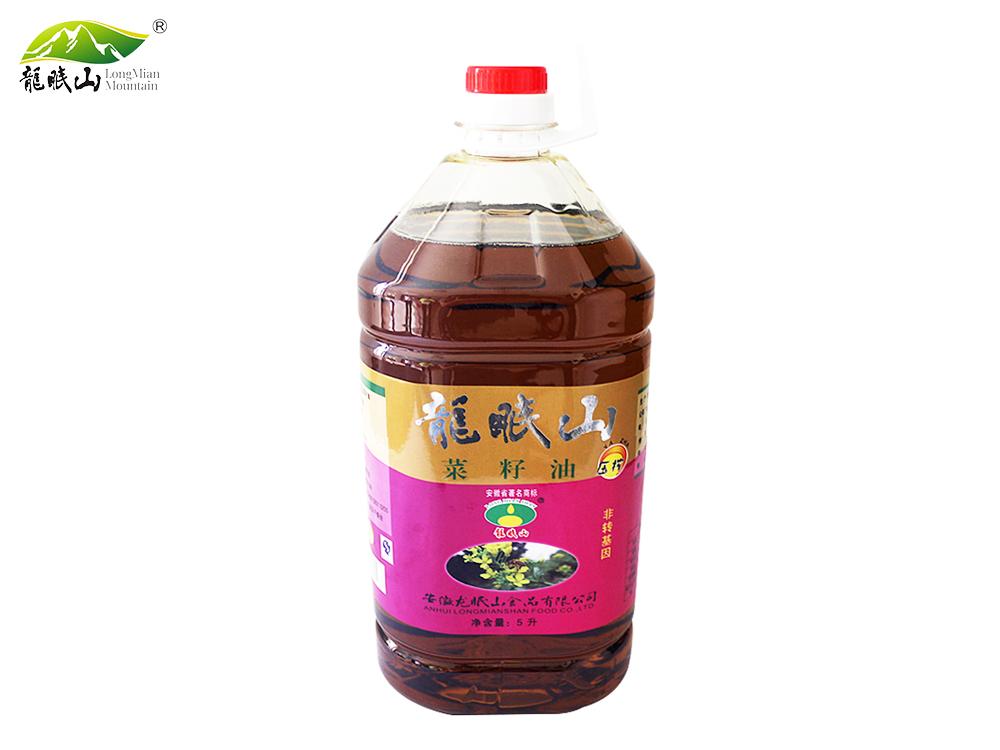 龙眠山菜籽油5L