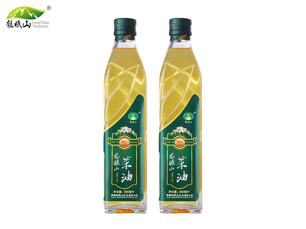 龙眠山茶油500ML(压榨一级)