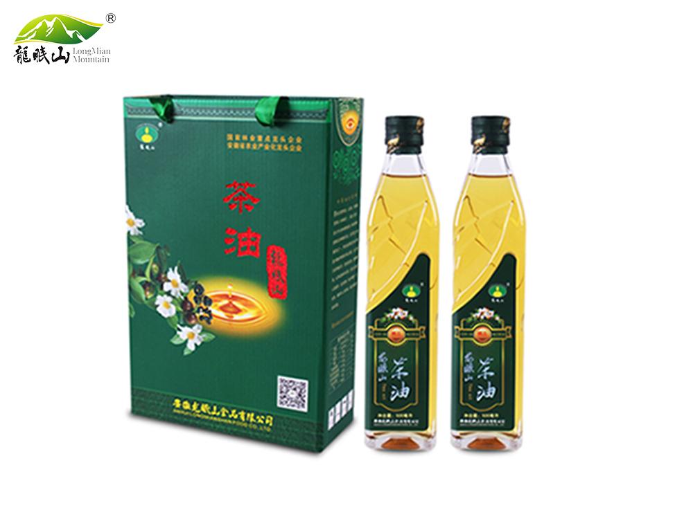 龙眠山茶油500ml*2(压榨一级)
