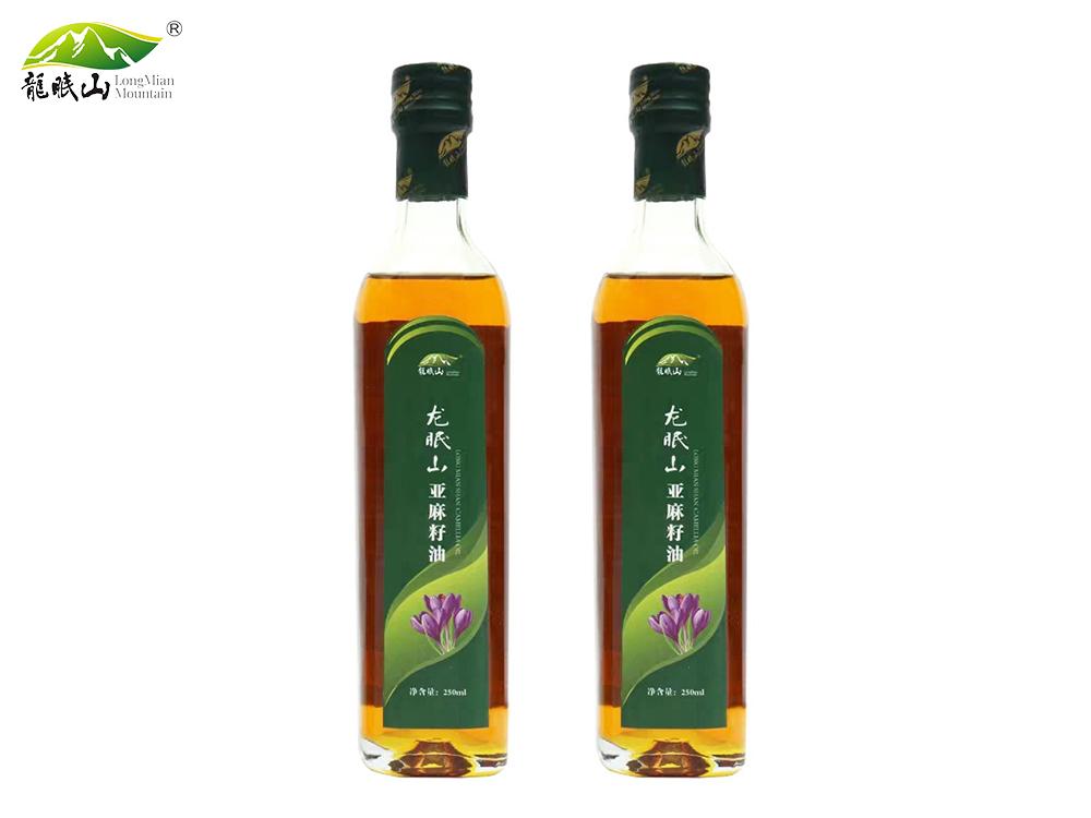 龙眠山亚麻籽油250ML